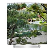 A Glimpse Of Tranquility Shower Curtain