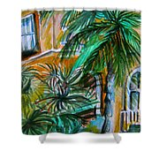 A Hotel In Sorrento Italy Shower Curtain