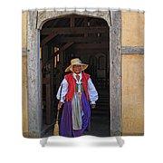 A Jamestown Colonist Shower Curtain