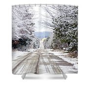 A Journey Begins With One Step Shower Curtain