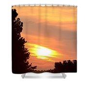 A June Sunrise Shower Curtain