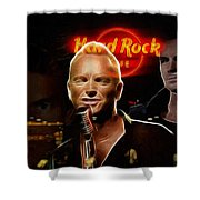 A Life For The Music Shower Curtain