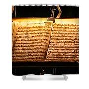 A Little Night Music Shower Curtain by Lauri Novak