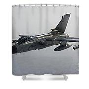 A Luftwaffe Tornado Ecr Over Northern Shower Curtain