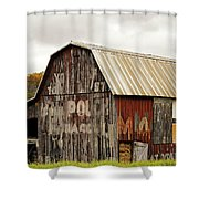 A Mail Pouch Barn In West Virginia Shower Curtain