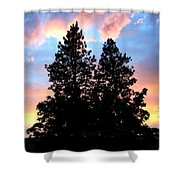 A Matchless Moment Shower Curtain