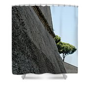 A Mighty Fortress Shower Curtain