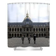 A Military Awards Ceremony Shower Curtain by Stocktrek Images