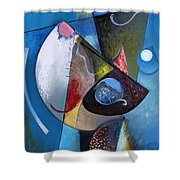 A Moon Story 2 Shower Curtain
