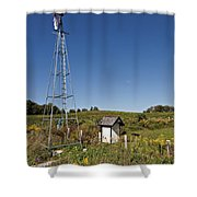 A Moving Memory Shower Curtain