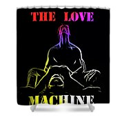 A New Lover In Town Shower Curtain