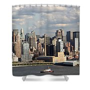 A New York City Afternoon Shower Curtain