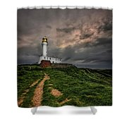 A Path To Enlightment Shower Curtain