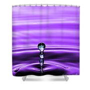 A Perfect Rise Of Water Shower Curtain