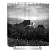 A Perfect View Of Sunlight Shower Curtain