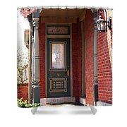 A Picturesque Porch Shower Curtain