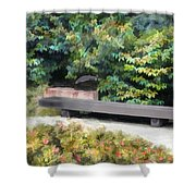 A Place Of Contemplation Shower Curtain