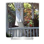 A Porch To Reflect Shower Curtain