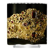 A Queen's Pride Shower Curtain