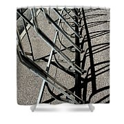 A Rack Of Shadows Shower Curtain