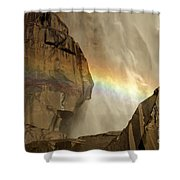 A Rocky Nap Shower Curtain
