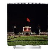 A Serene Ho Chi Minh Mausoleum Shower Curtain
