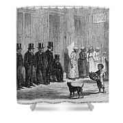 A Slave-pen At New Orleans Before Shower Curtain by Photo Researchers