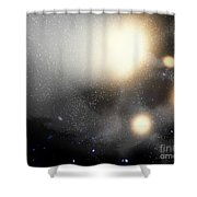 A Smash-up Of Galaxies Shower Curtain