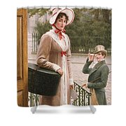 A Source Of Admiration Shower Curtain