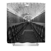A Spanish Cellar Shower Curtain