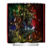 A Splatter Of Applause Shower Curtain