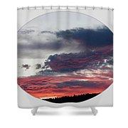 A Splendid Moment-oval Shower Curtain