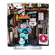A Stop Along Route 66 Shower Curtain