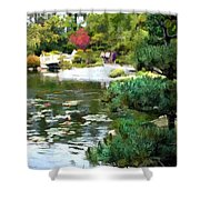 A Stroll In Peace And Tranquility Shower Curtain