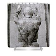 Tattooed Man Shower Curtain