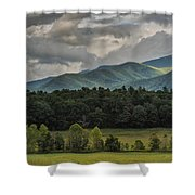 A Touch Of Sunshine Shower Curtain