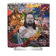 A Tribute To Willie K Shower Curtain