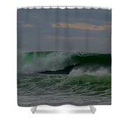 A Turbulent Sea On A Stormy Morning 2 Shower Curtain