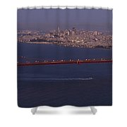 A View From Marin Headlands Shower Curtain