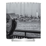 A View From New Jersey II Shower Curtain