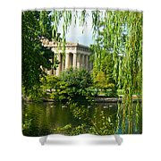 A View Of The Parthenon 12 Shower Curtain