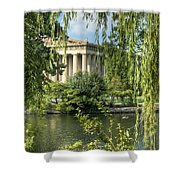 A View Of The Parthenon 5 Shower Curtain