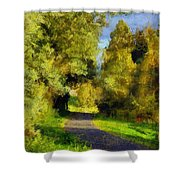 A Walk Amongst Nature Shower Curtain