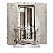 A Window In Paris Shower Curtain