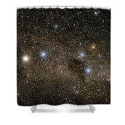 Ab Centauri Stars In The Southern Cross Shower Curtain