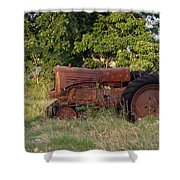 Abandonded Farm Tractor 2 Shower Curtain