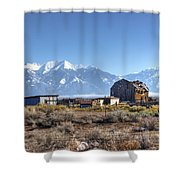 Abandonded Homestead In San Luis Valley Shower Curtain
