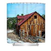 Abandoned Barn Ll Shower Curtain