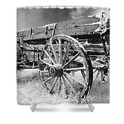 Farming Nostalgia Shower Curtain