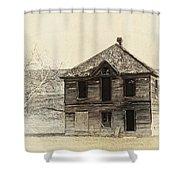 Abandoned Homestead - Okanogan Washington Shower Curtain